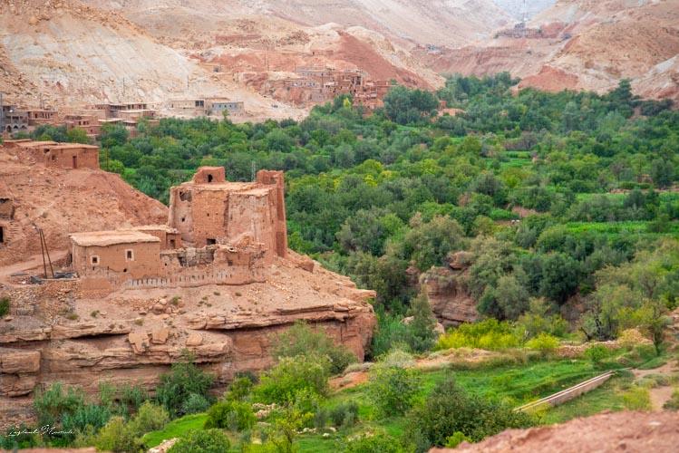 vieille kasbah maroc