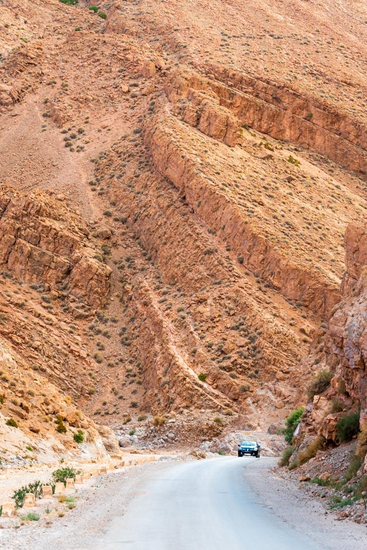 paysage gorges todra maroc