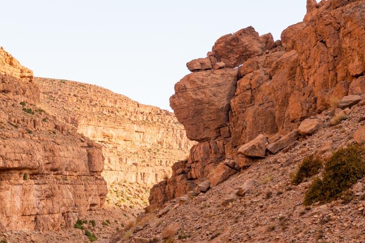 rochers gorges todra maroc