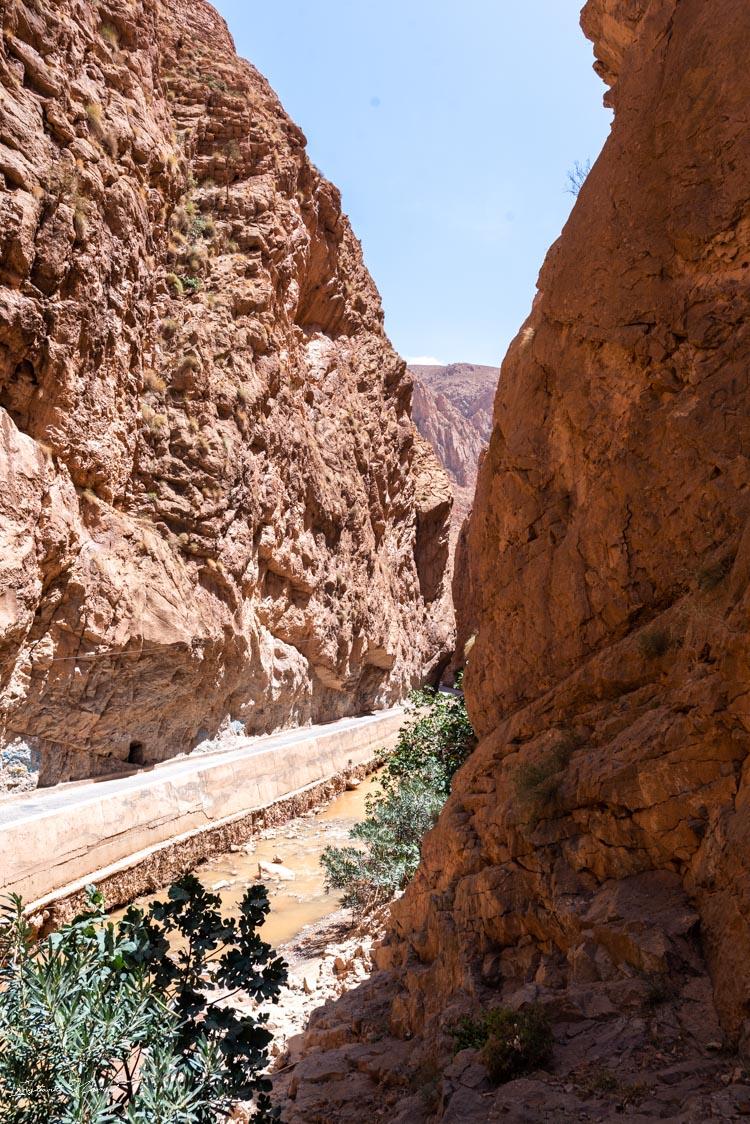 route gorges dadès maroc