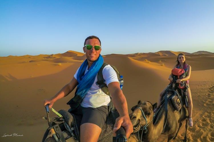 promenade chameau maroc