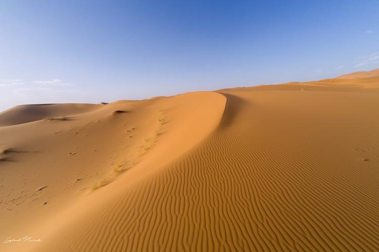 immensité désert maroc