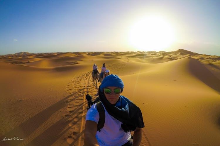 balade désert maroc