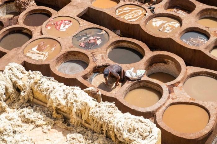 artisan tannerie chouara
