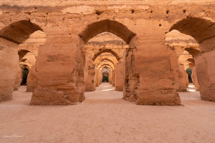 ecuries moulay ismail maroc