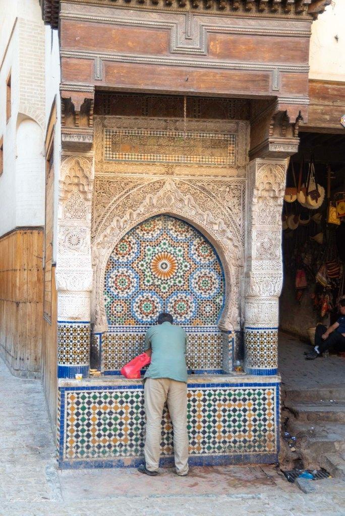 fontaine fez maroc