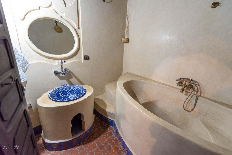 hôtel salle de bain chefchaouen