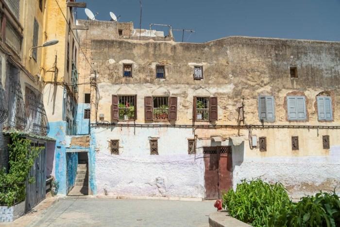 maisons quartier juif fez
