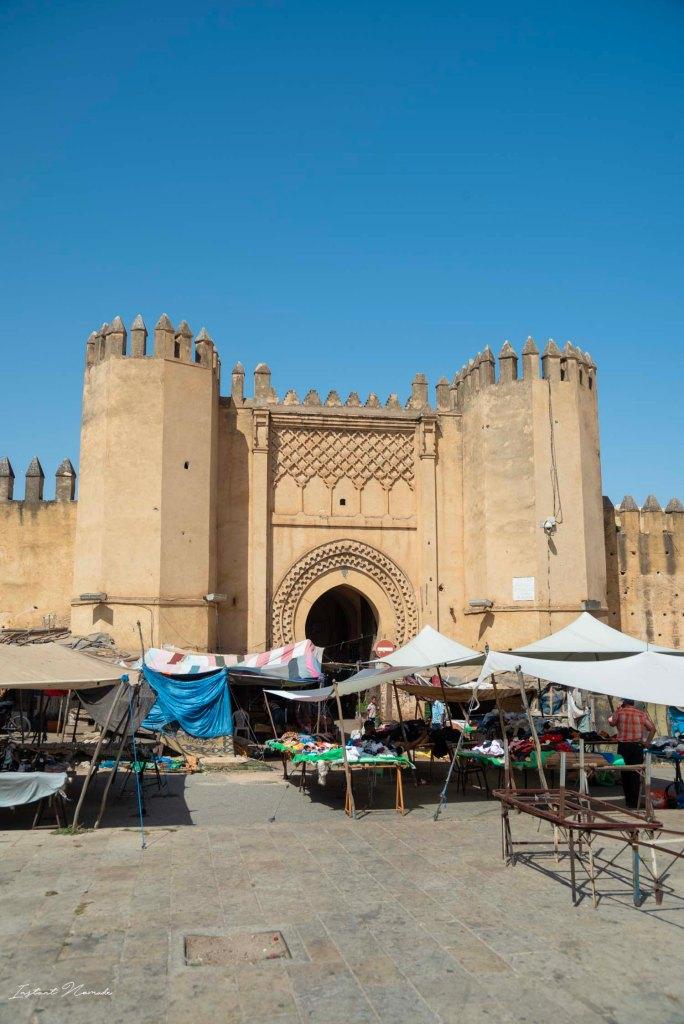 remparts fez maroc