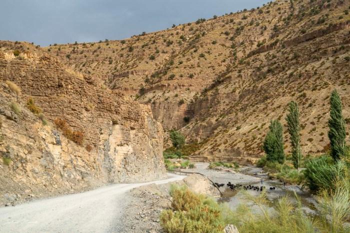 route vallée du ziz