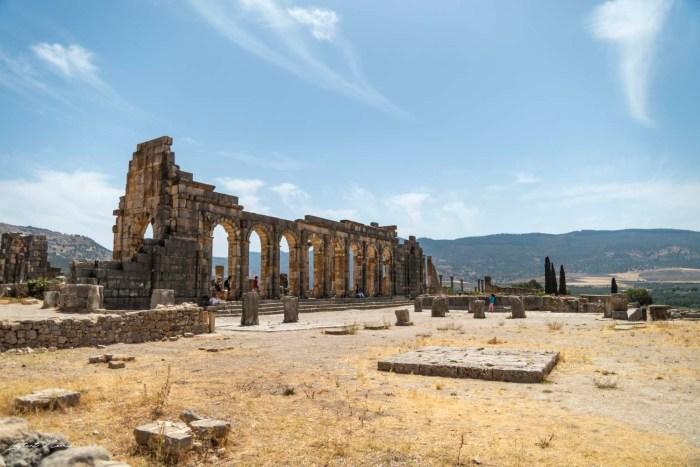 ruines antiques volubilis