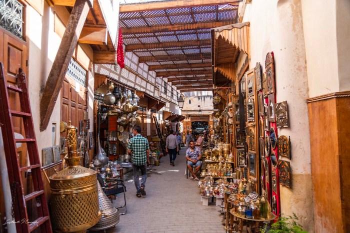 souk fez maroc