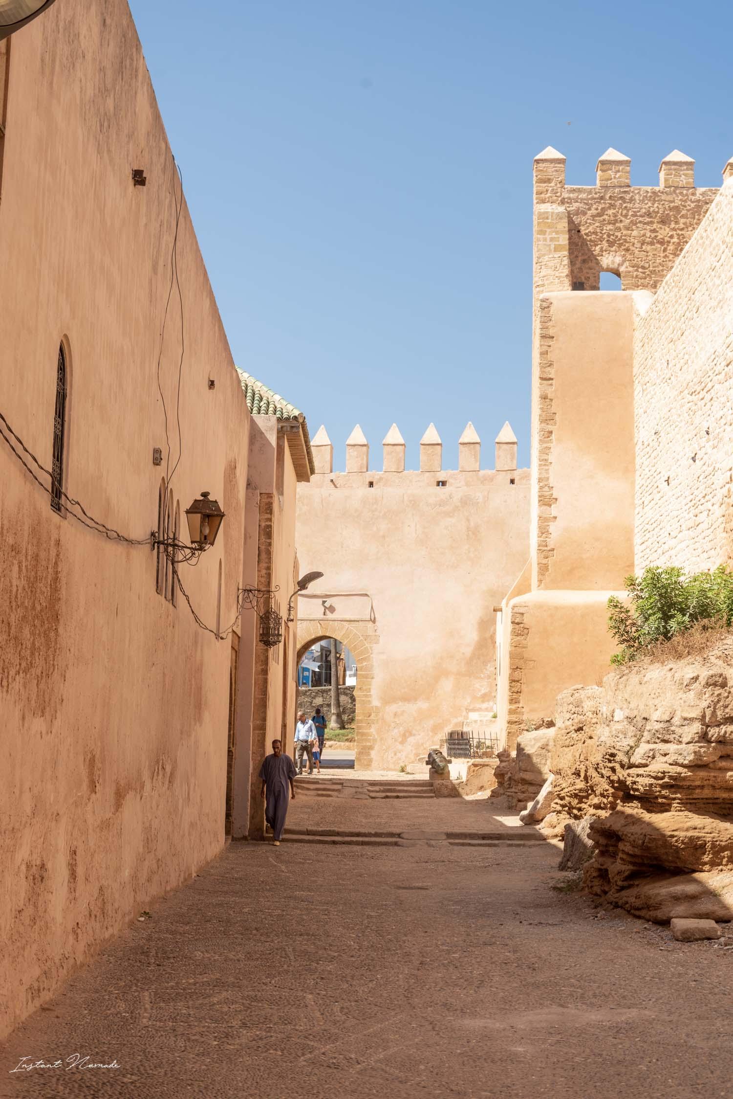 forteresse kabsah des oudayas rabat