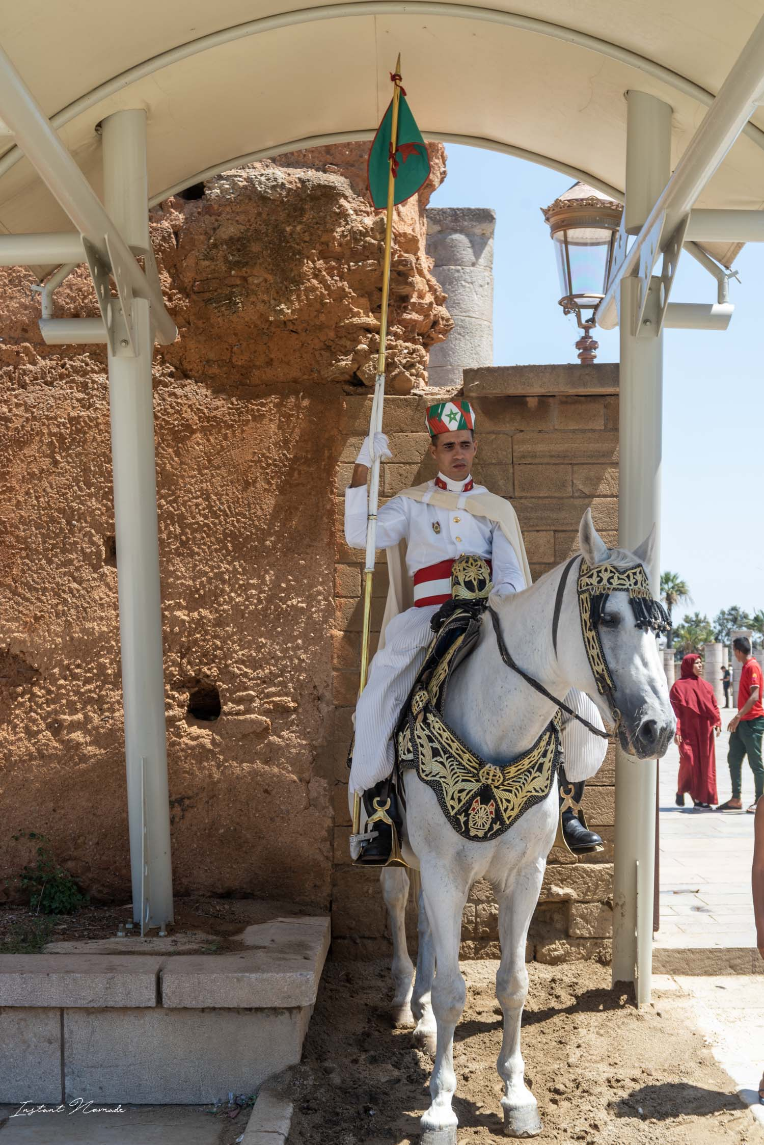 garde royal cheval rabat maroc