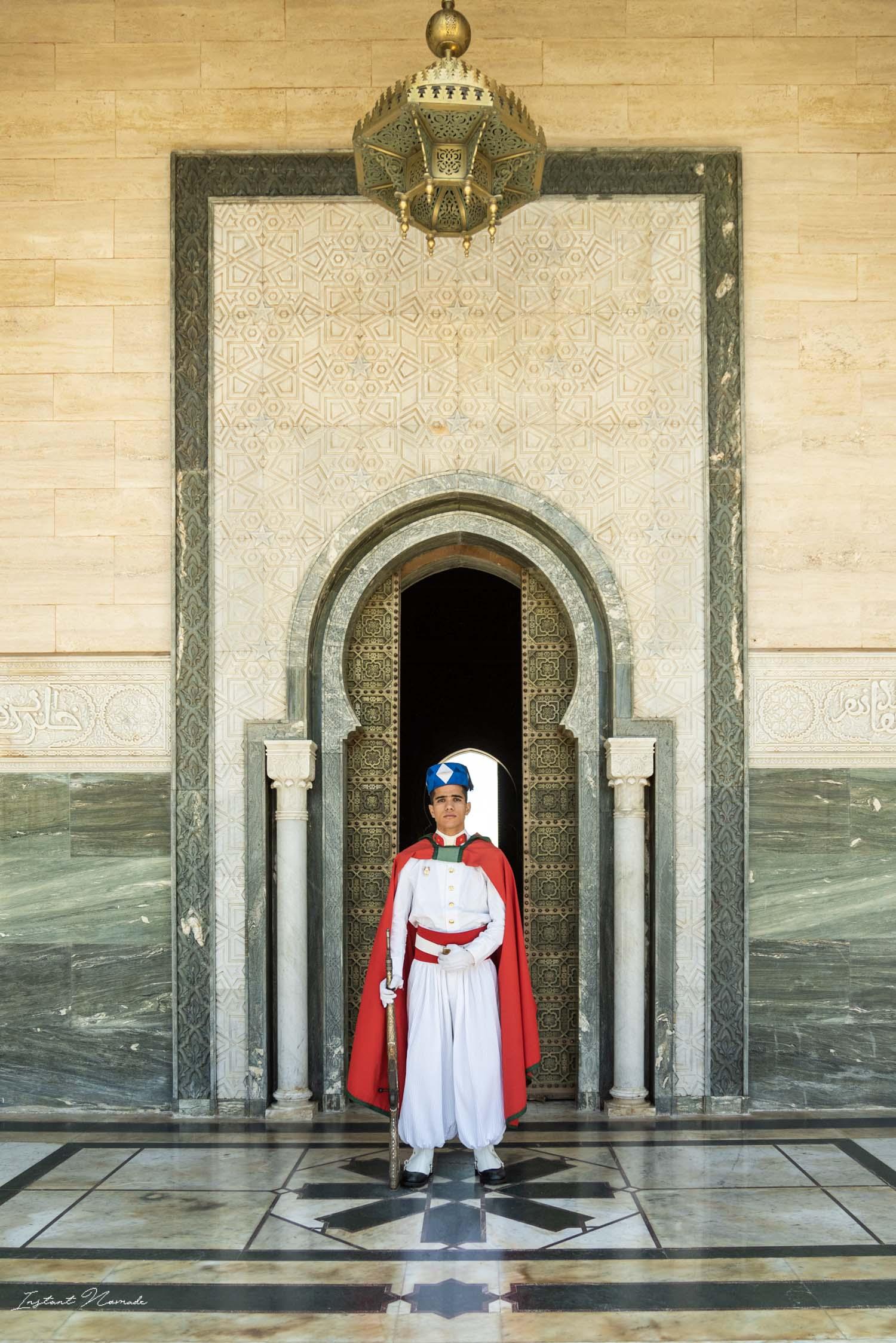 garde royal rabat maroc