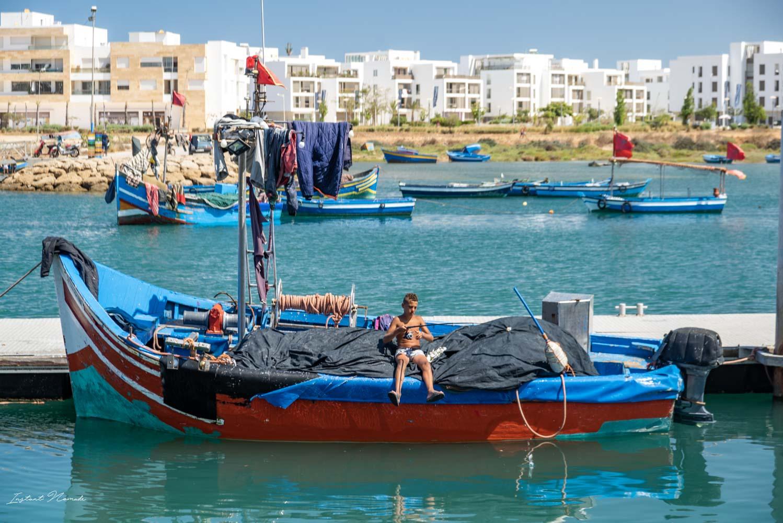 pêcheur rabat maroc