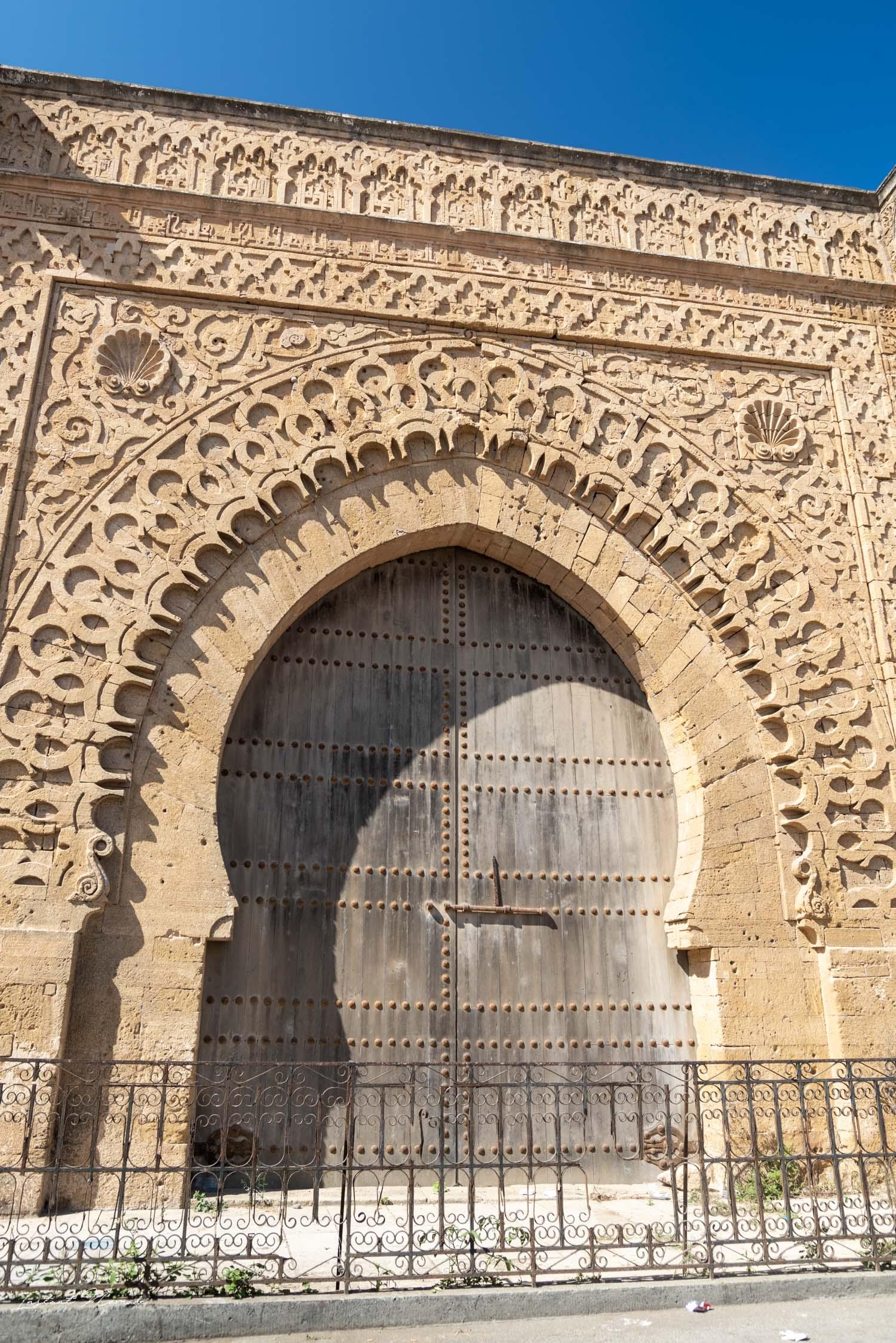 porte el-kébir kasbah des oudayas rabat