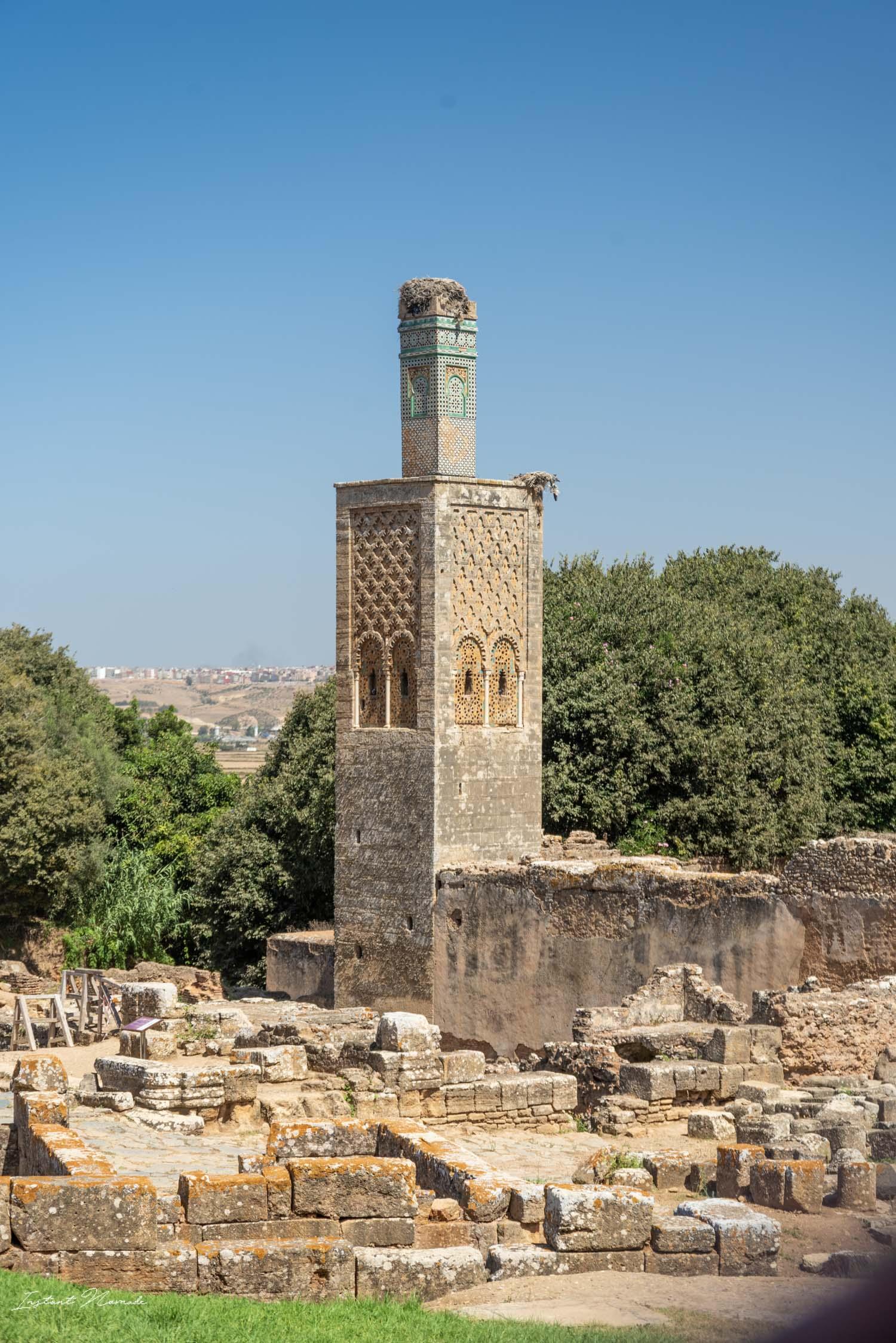site historique nécropole chellah rabat maroc