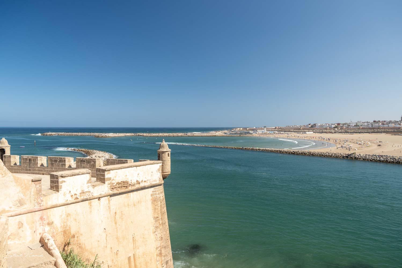 vue océan kasbah des oudayas rabat
