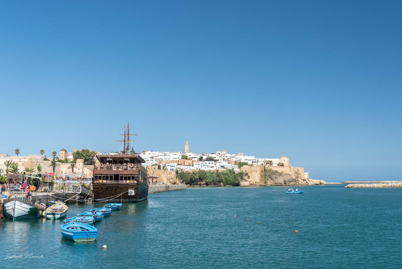 vue sur la medina rabat maroc