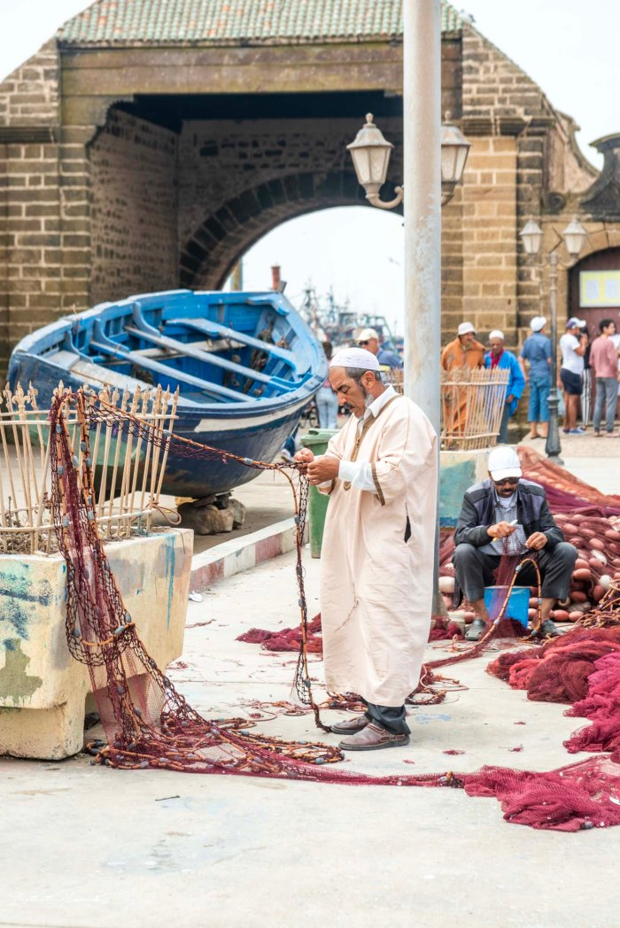 pêcheur essaouira maroc