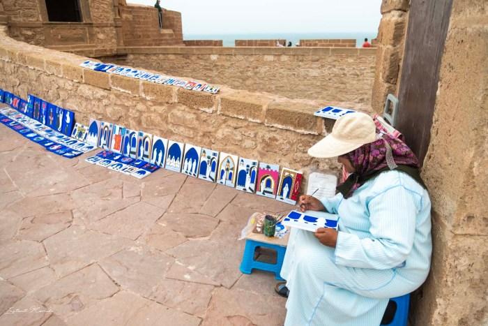 peintre essaouira maroc