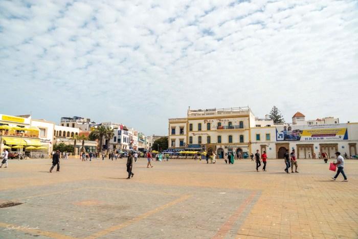 place principale essaouira maroc