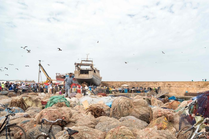 port de pêche essaouira maroc
