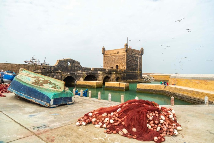 port essaouira maroc