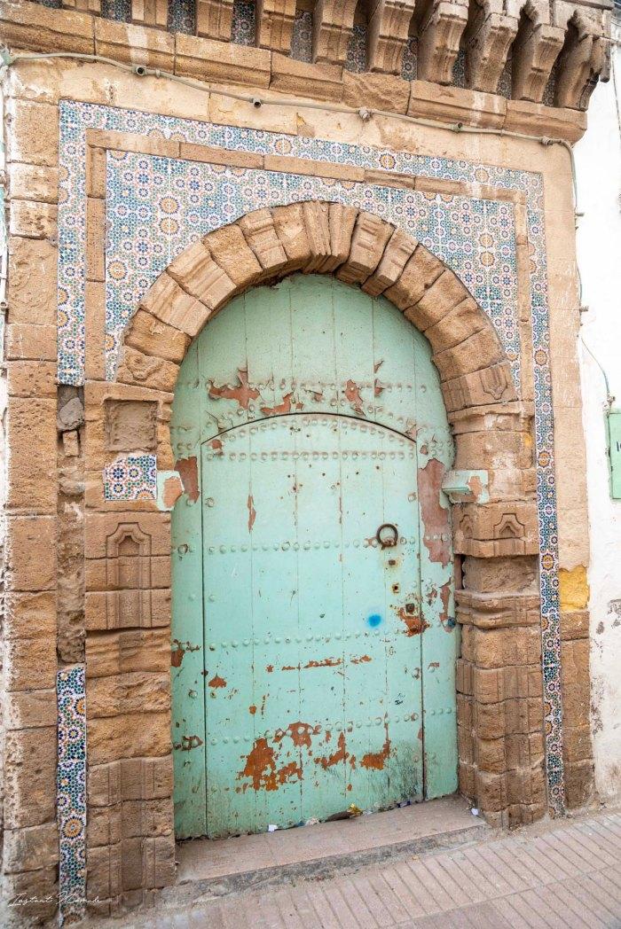 porte ancienne essaouira maroc