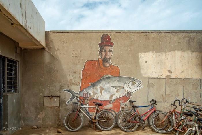 street art essaouira maroc