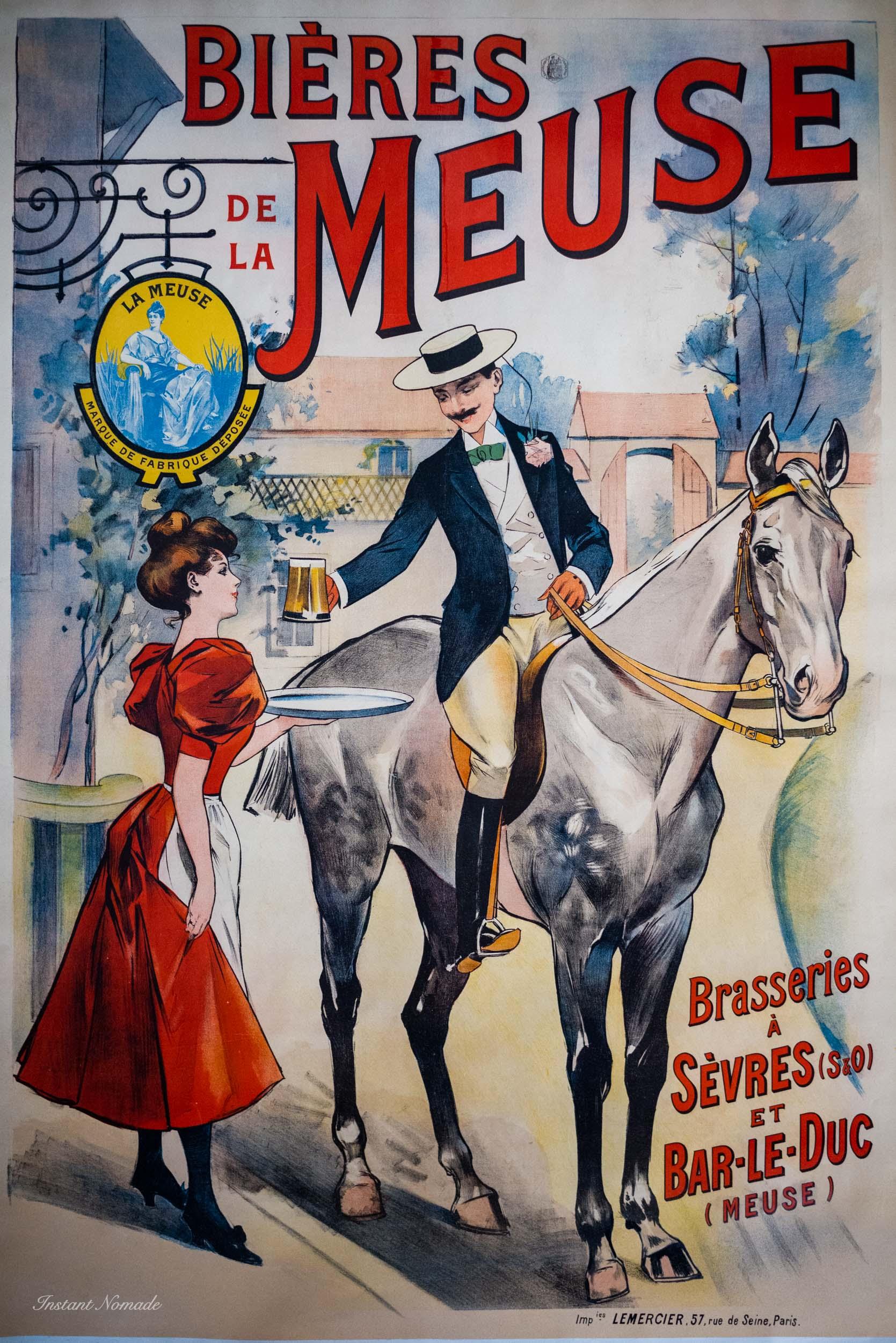 affiche musee de la biere stenay meuse
