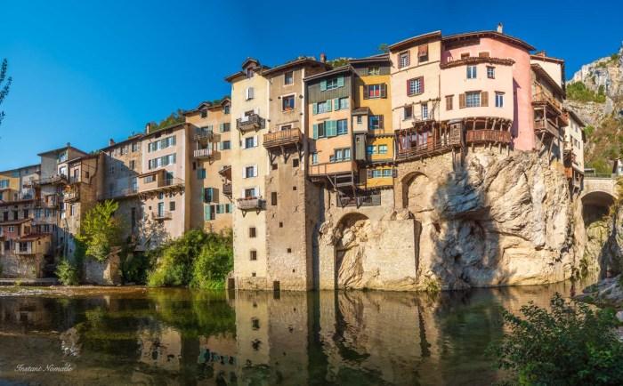 maisons moyen age pont en royans