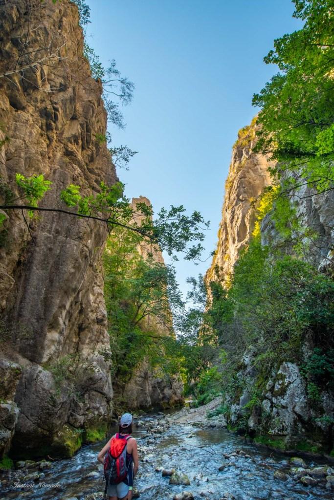randonnée cascade verte